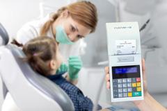 Kasa fiskalna Novitus Nano E - Novitus Nano E w gabinecie stomatologicznym
